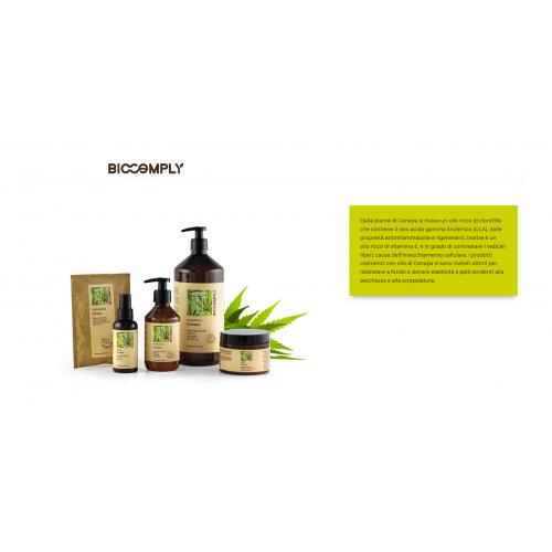 Biocomply maschera idratante e anti crespo