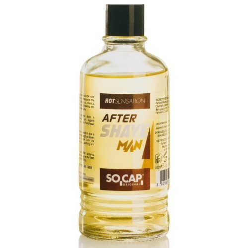 SOCAP After Shave Man Hot Sensation 400ml