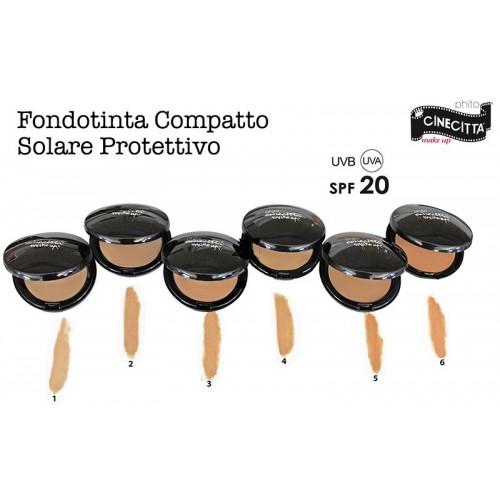 CINECITTA' MAKE UP FONDOTINTA COMPATTO SOLARE